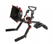 CAME-TV Protective Cage para GH4 Camera Rig con Hand Grip Support